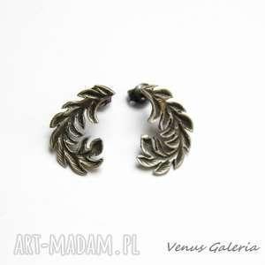 Wianuszki kolczyki srebrne venus galeria srebro, kolczyki
