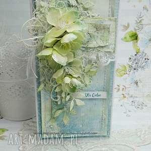 dla ciebie- kartka w pudełku - ślub, scrapbooking, urodziny, dla niej, imieniny