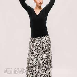 Maxi, plisowana spódnica spódnice ququ design maxi spódnica