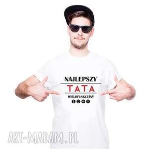 Koszulka męska najlepszy tata koszulki tailormade dla taty