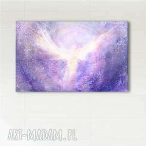 obraz energetyczny - anielski kontakt wydruk na płótnie, ezoteryczny