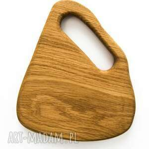 drewniana deseczka dębowa do serwowania - rustic, rystykalny, deska, decha, dąb