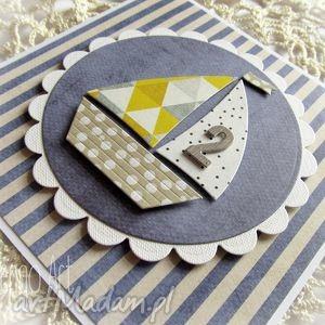 scrapbooking kartki kartka dla małego żeglarza, urodziny, żaglówka, chłopiec