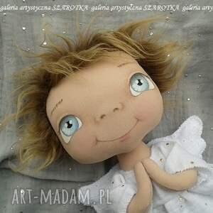 dekoracje aniołek lalka - dekoracja tekstylna, ooak, aniołek, na prezent