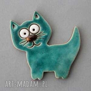 kocisko-magnes ceramiczny, kot, minimalizm, kociara, dom, święta, prezent