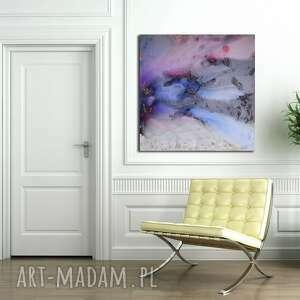 Moje mgły 8 alexandra13 abstrakcja, mgły, płótno, akryl,