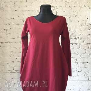 święta, sukienki red venus-sukienka, boho, jersey sukienka, czerwona sukienka