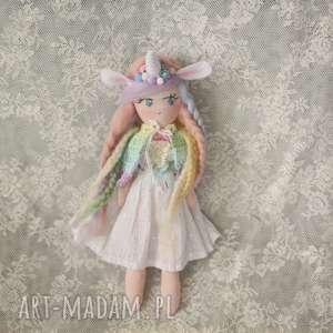 Tęczowa Bajka - Lalka Marina, bajka, lalka, jednorożec, tiul