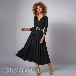 unikalne, amelia black - sukienka, elegancka, koktajlowa, klasyczna sukienki