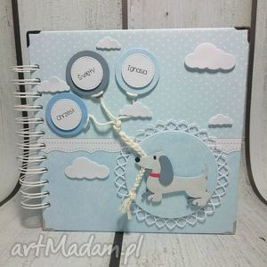 "Album ""kundel bury fajny pies"" scrapbooking albumy the scraper"