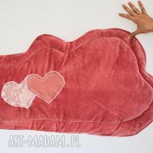 dywanik - chmurka ciemno pudrowy róż, chmurka, dywanik, dziewczynka, dekoracja