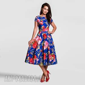 handmade sukienki sukienka klara total midi caroline