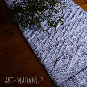 prezent na święta, dywan dziergany milo, sznurek, eko dywan