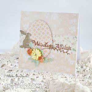 hand-made scrapbooking kartki kartka wielkanocna