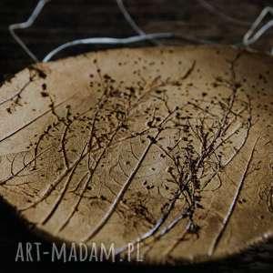 ręcznie zrobione ceramika patera ceramiczna