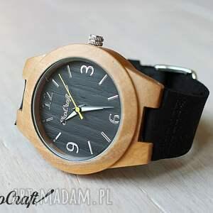 damski drewniany zegarek blackbird - drewniany, zegarek, ekologiczny, damski, kobiecy