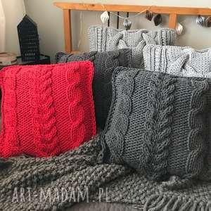 Poduszki knitting factory poduszka dekoracyjna, poduszkiplecione