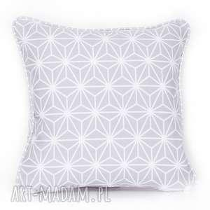 ręczne wykonanie poduszki poduszka diamond - grey 40x40cm