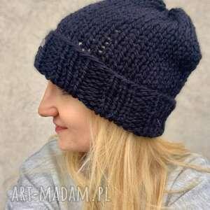 hand-made czapki czapka 100% wełna