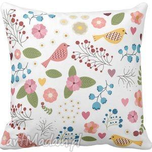 Poszewka na poduszkę dziecięca folk folkowe klimaty 3034, poduszka,