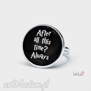 pierścionek always, harry, potter, hogwart, snape, książka, film