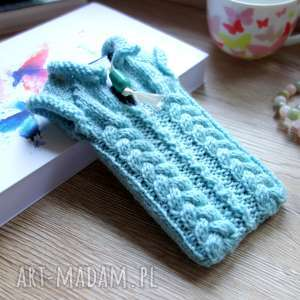 b a l sweterek na smartfona, sweter, etui, pokrowiec, wełniany, prezent