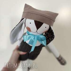 lalki zajączek kasztanowy kamil, lalka, zajączek, przytulak, zabawka, maskotka