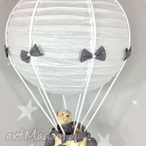 Lampa LaMaDo Latający Miś Polski Handmade, lampa, latający, miś, balon,