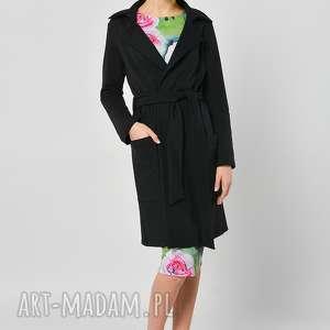 damiana - płaszczyk bluza - płaszcz, bawełna, czarny