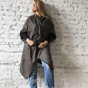 Wełniany narzucaj, sweter, boho-narzutka, kurtka, narzutka, płaszczyk, okrucie