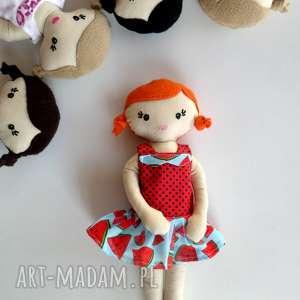 mała LALA - ruda, lala, lalka, szmacianka