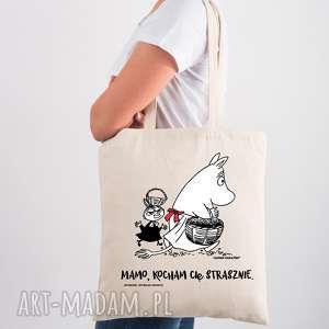 ręczne wykonanie licencjonowana torba muminki dla mamy mamo kocham cię