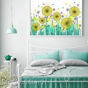 łąka 50x70cm, łąka, kwiaty, plakat, obraz dom