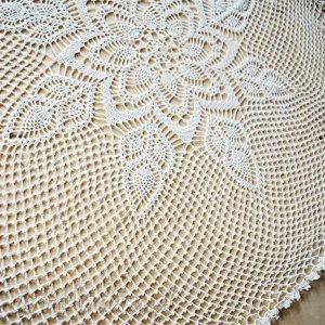 Serweta na stół ręcznie robiona szydełku , serweta, serwetka, szydełku, dziergana