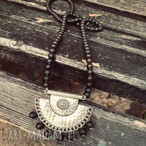 bead story naszyjnik amalia, boho, korale, etno, modny