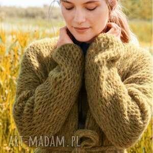 sweter płaszcz narbona, sweter, płaszcz, delikatny, kobiecy, prezent