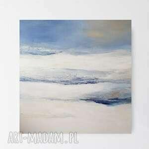 abstrakcja-obraz akrylowy formatu 60/60 cm, abstrakcja, kwadrat, nowoczesny