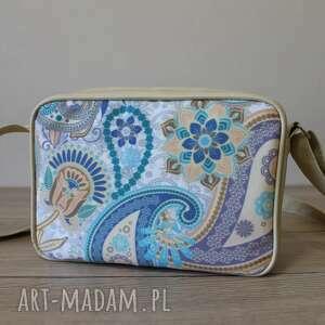 handmade upominek święta single bag - paisley