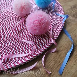 dywan candy, dywan, chodnik, dywanik, sznurek, bawełna