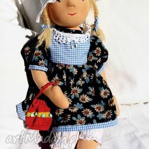 lalka waldorfska zuzia z ubrankami i dodatkami, lalka, waldorfska, szmaciana, prezent