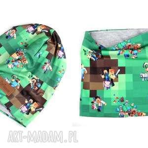 Prezent CZapka komin zestaw Minecraft, minecraft, prezent, zestaw, czapka,