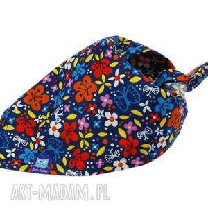 chustka wzór kwiaty, bandana, chustka, apaszka