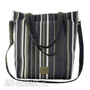 torba w charakterze siatki paski, torba, torebka, na ramię, duża