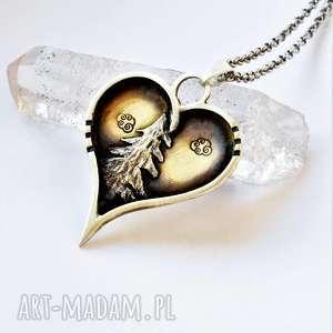 naszyjniki z miłości do natury, biżuteria naszyjnik góry, ze srebra