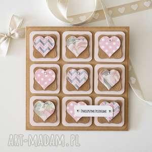 kartka z życzeniami - 9 serc, kartka, życzenia, urodziny, walentynki, ślub