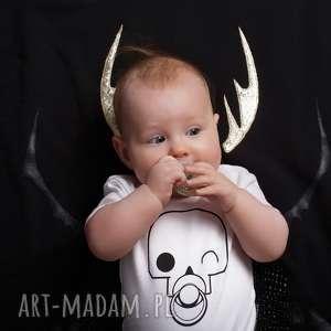 Body dla dzieci i niemowląt z krótkim rękawem - czacha