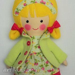malowana lala greta - lalka, zabawka, przytulanka, prezent, niespodzianka, dziecko