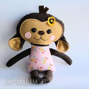 Małpka Cecylia - wersja S 35 cm, małpka, wersjas, dziewczynka, maskotka