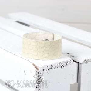 hand-made skórzana bransoletka