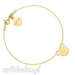 bransoletki złota bransoletka z myszką, złota, mysz, myszka, dziecięca